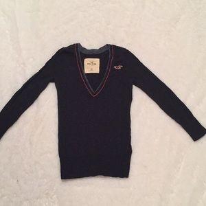 Hollister v-neck sweater.  Never worn